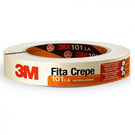 Fita Crepe 3M™101LA - Rolo 24 mm x 50 m