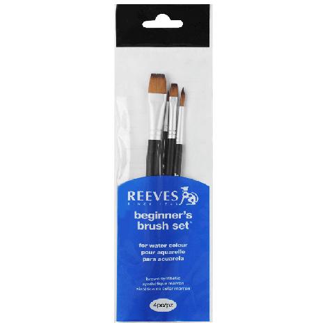 Kit de Pincéis Para Pintura Aquarela Reeves 4 Unidades ref. 8210504