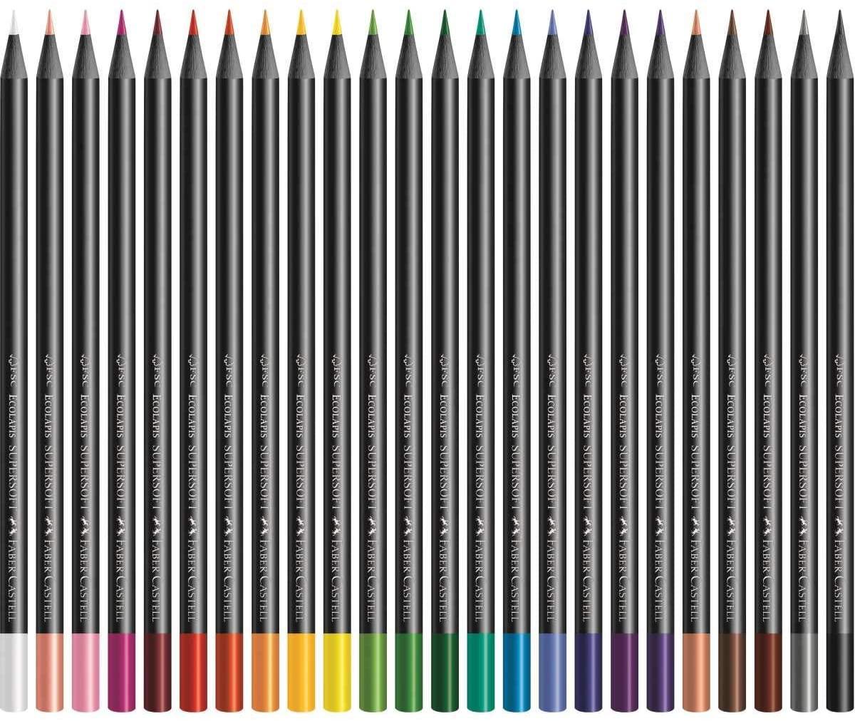 Kit desenho colorido iniciante A3 - com 24 cores