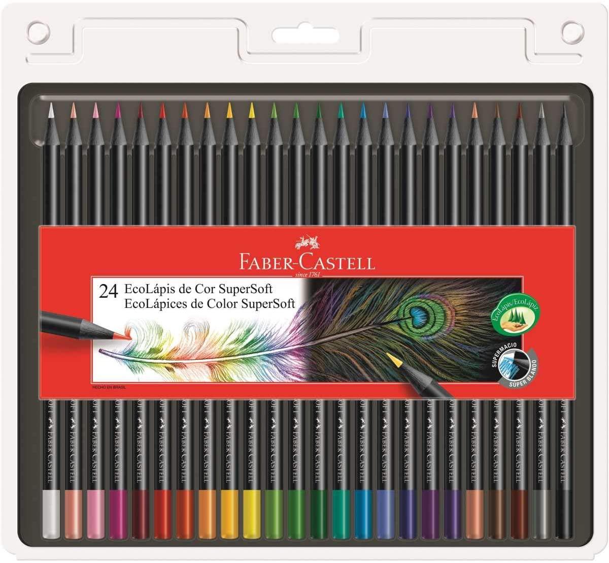 Kit desenho colorido iniciante A4 - com 24 cores