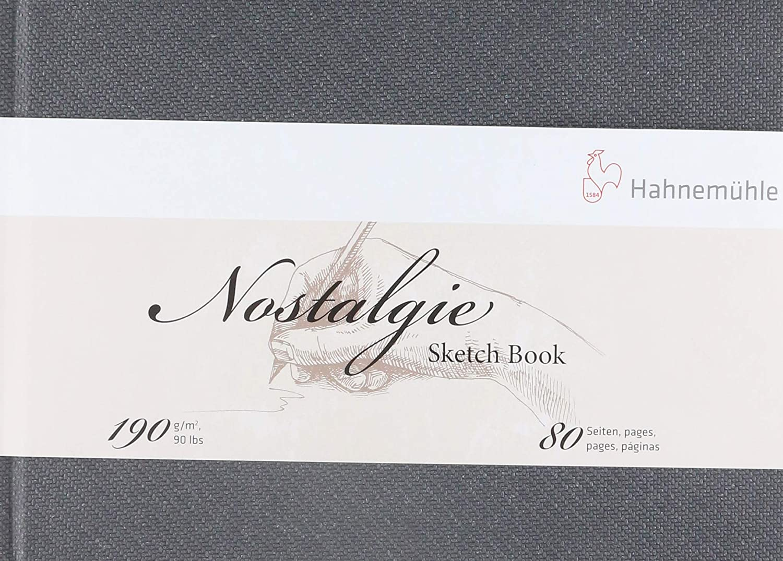 Sketchbook Nostalgie 190 g/m² A-5 com 40 Folhas Paisagem Hahnemühle
