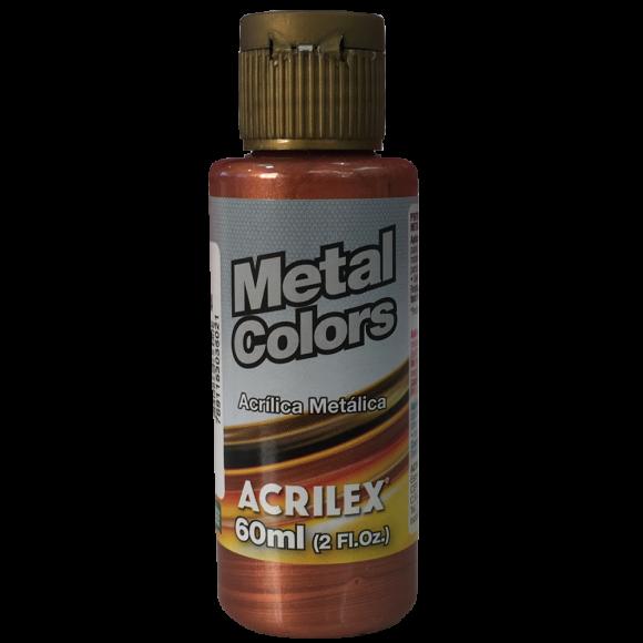Tinta Acrílica Metal Colors 60ml Acrilex