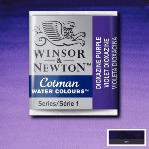 Tinta Aquarela em Pastilha Cotman Winsor & Newton Dioxazine Purple 231