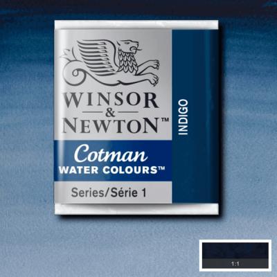 Tinta Aquarela em Pastilha Cotman Winsor & Newton Indigo 322