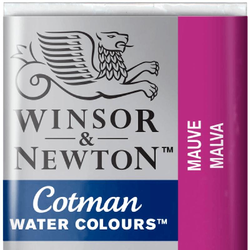 Tinta Aquarela em Pastilha Cotman Winsor & Newton Mauve 398