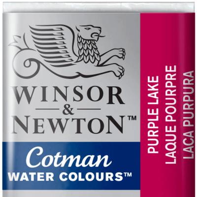Tinta Aquarela em Pastilha Cotman Winsor & Newton Purple Lake 544