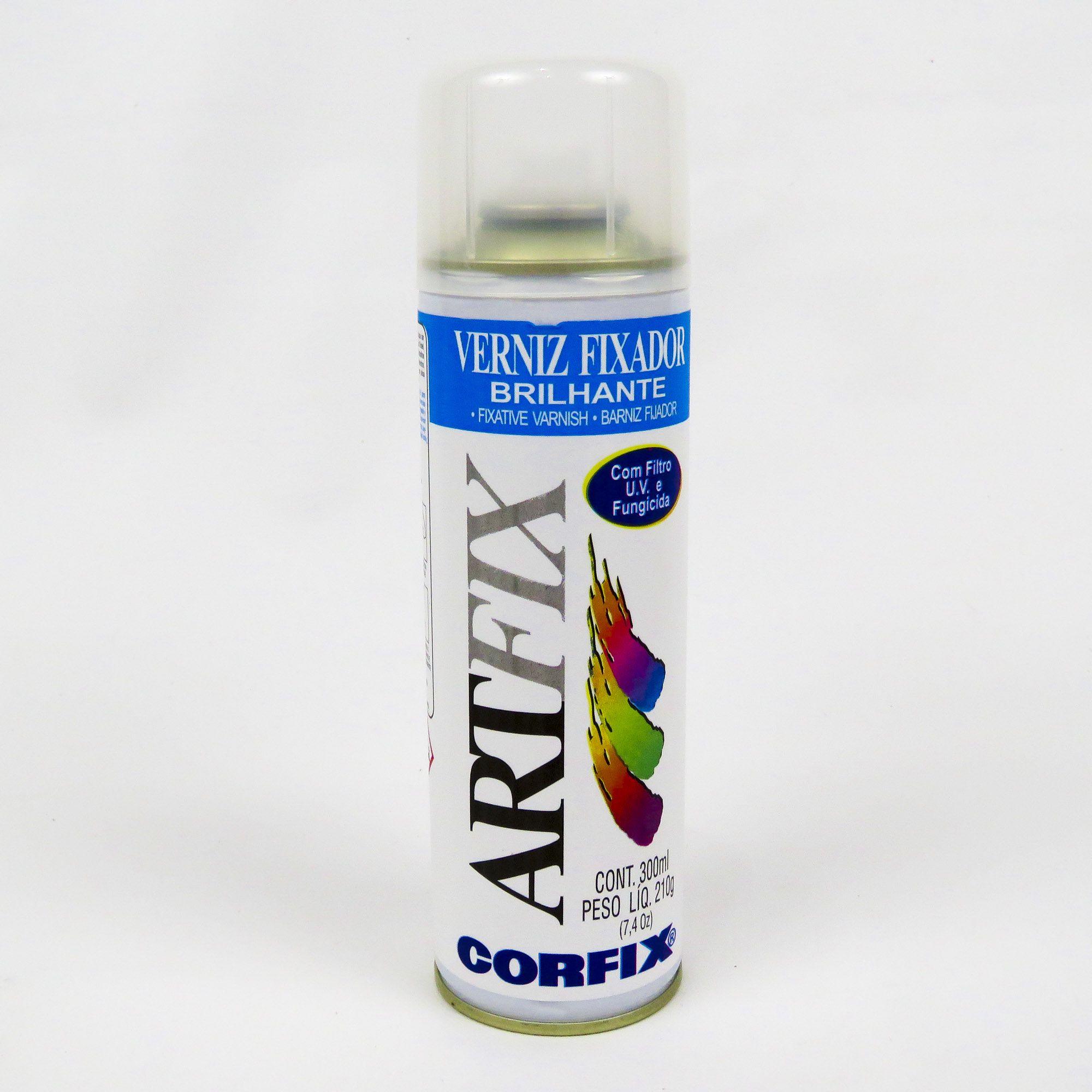 Verniz Spray Fixador Artfix Brilhante 300 ml Corfix