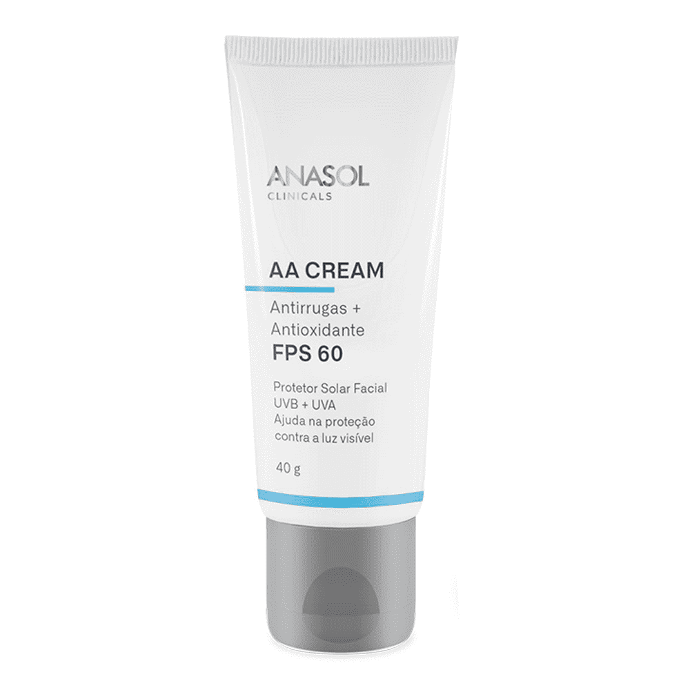 AA Cream Antirugas + Antioxidante  Clinicals Anasol FPS 60 -  40g