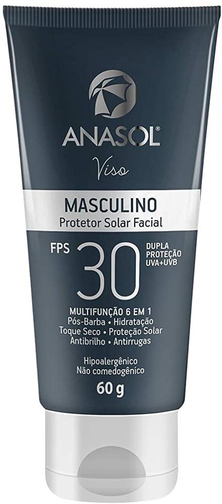 ANASOL PROTETOR SOLAR FACIAL MASCULINO FPS 30