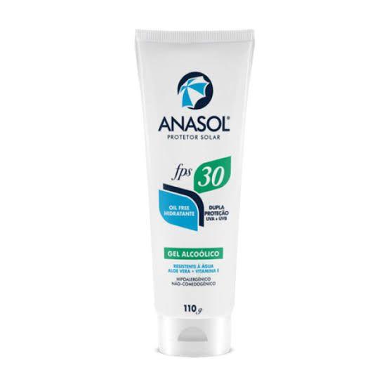 Protetor Solar Hipoalergênico Anasol FPS 30