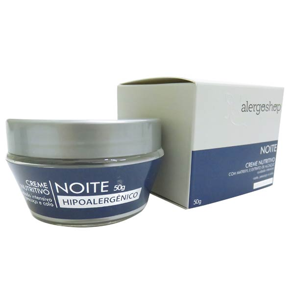 Creme Nutritivo Noite Hipoalergênico Eternity - 50 gr