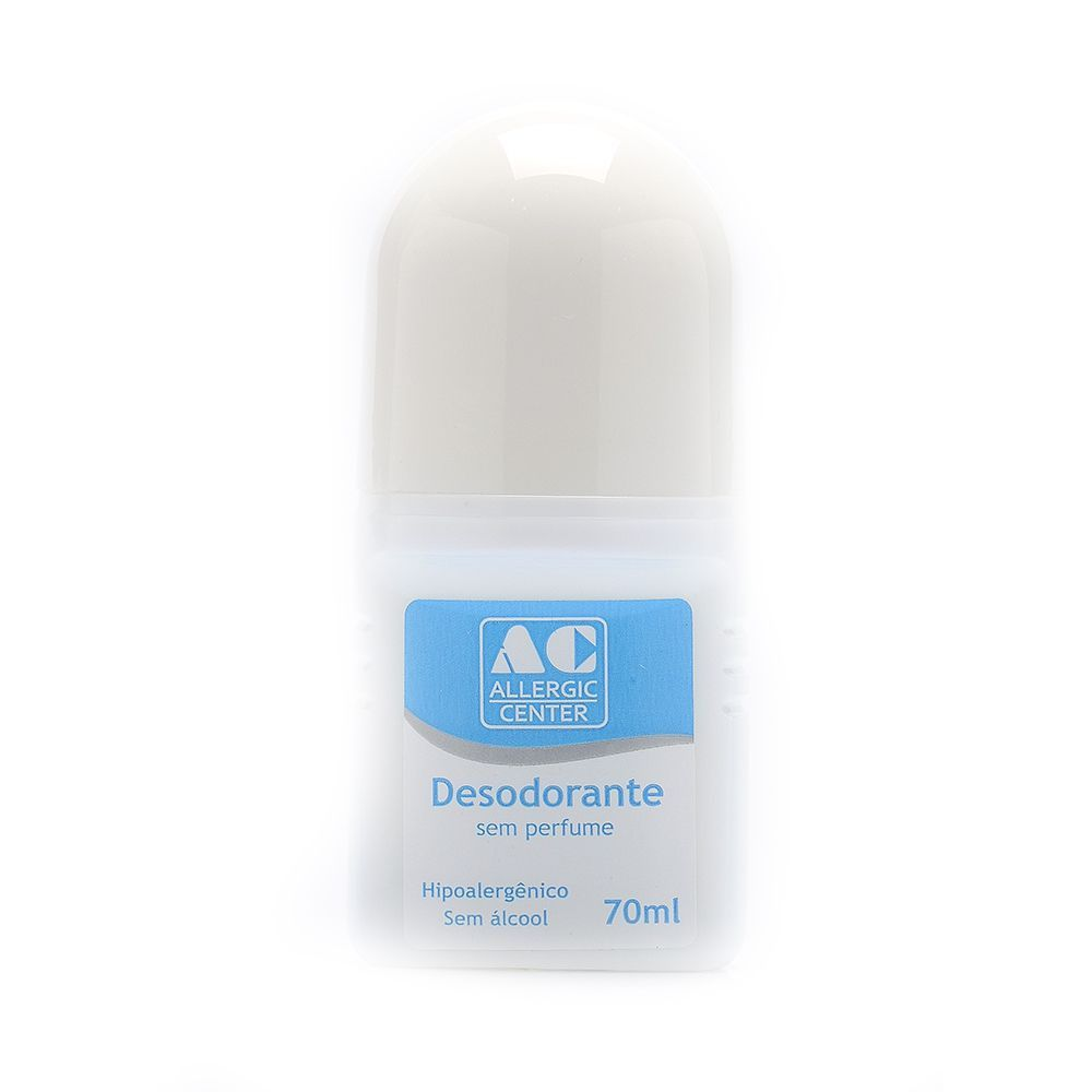Desodorante Hipoalergênico Roll On  sem Fragrância - 70ml