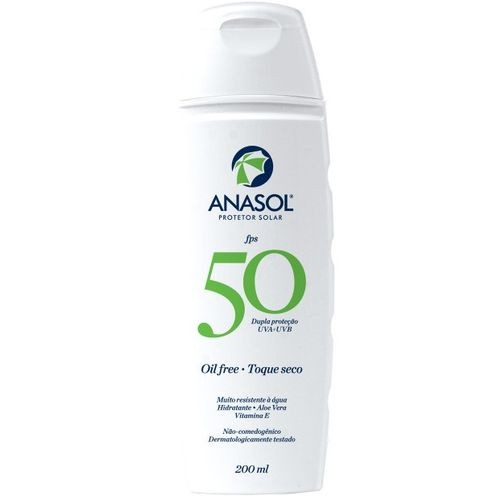 Protetor Solar Hipoalergenico Anasol FPS 50