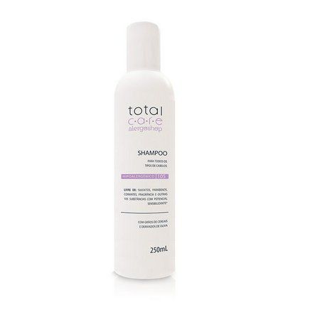 Shampoo Hipoalergênico Total Care