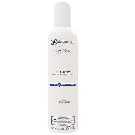 Shampoo Hipoalergênico Uso Diário Alergoshop