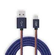 Cabo Micro USB i2GO 1,5m Pro Jeans