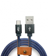 Cabo Micro USB i2GO 1,5m Jeans