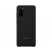 Capa Silicone Cover Samsung Galaxy S20 Plus - Preto