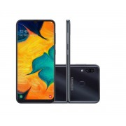Smartphone Samsung Galaxy A30 64GB - Novo
