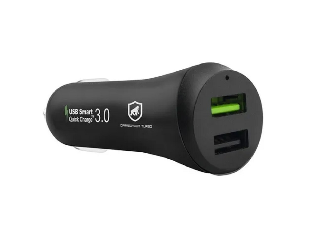 Acendedor USB 2 Saídas Pro - Gorila Shield