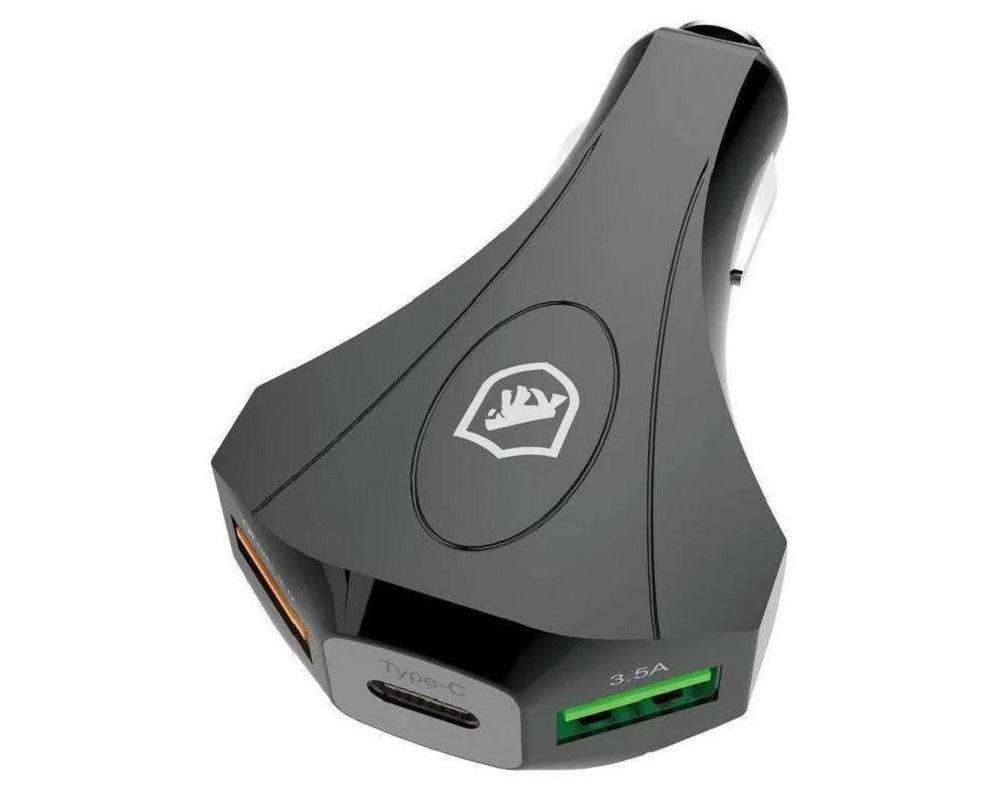 Acendedor USB 3 Saídas PRO- Gorila Shield