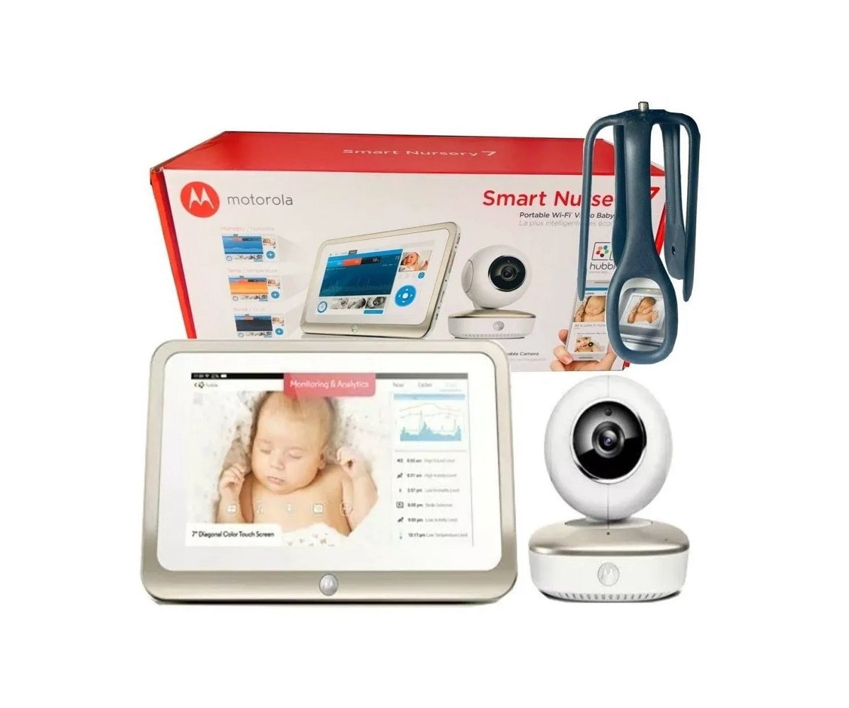 Babá Eletrônica Smart Nursey 7 - Motorola