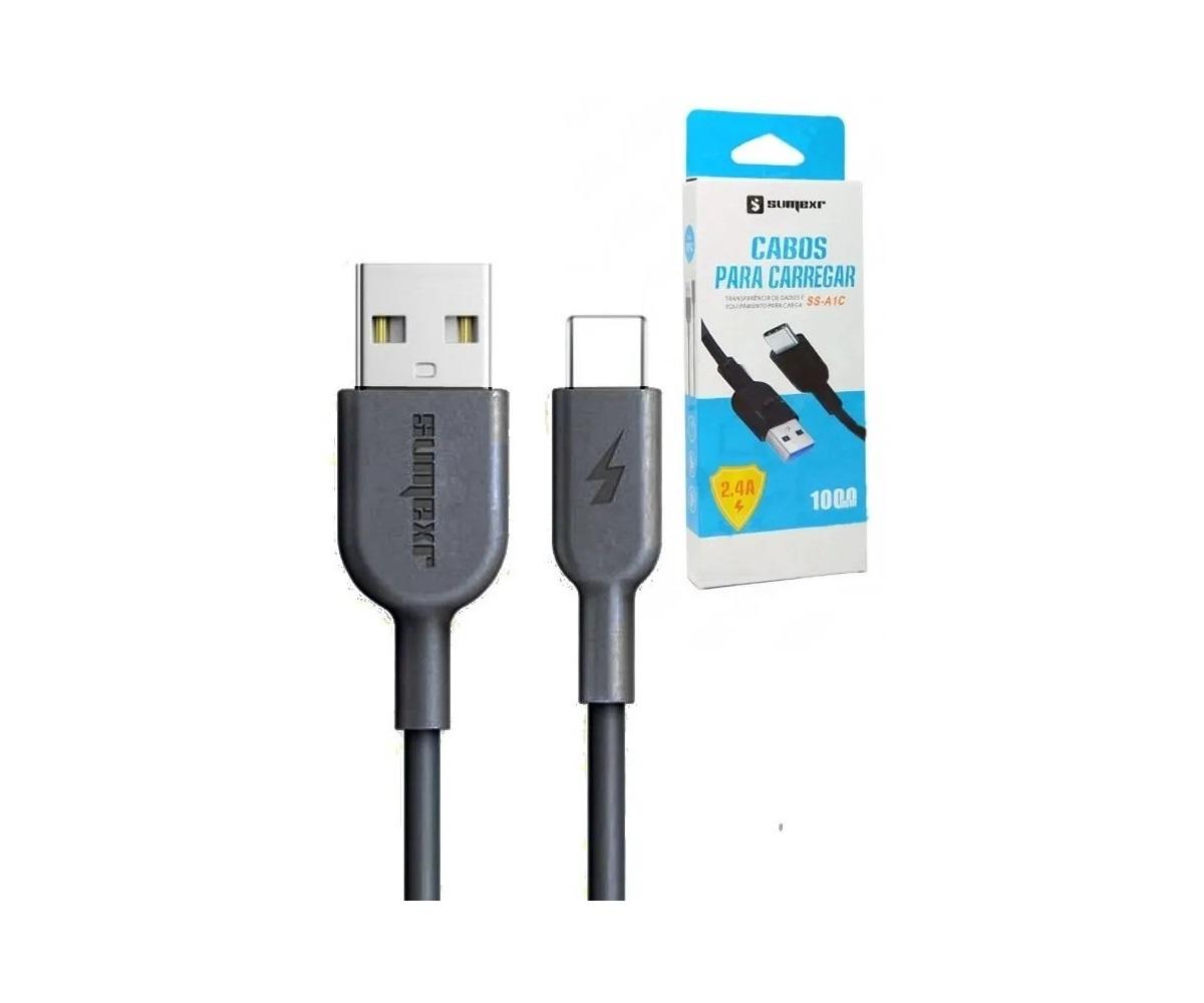 Cabo USB-C 1M - Sumexr