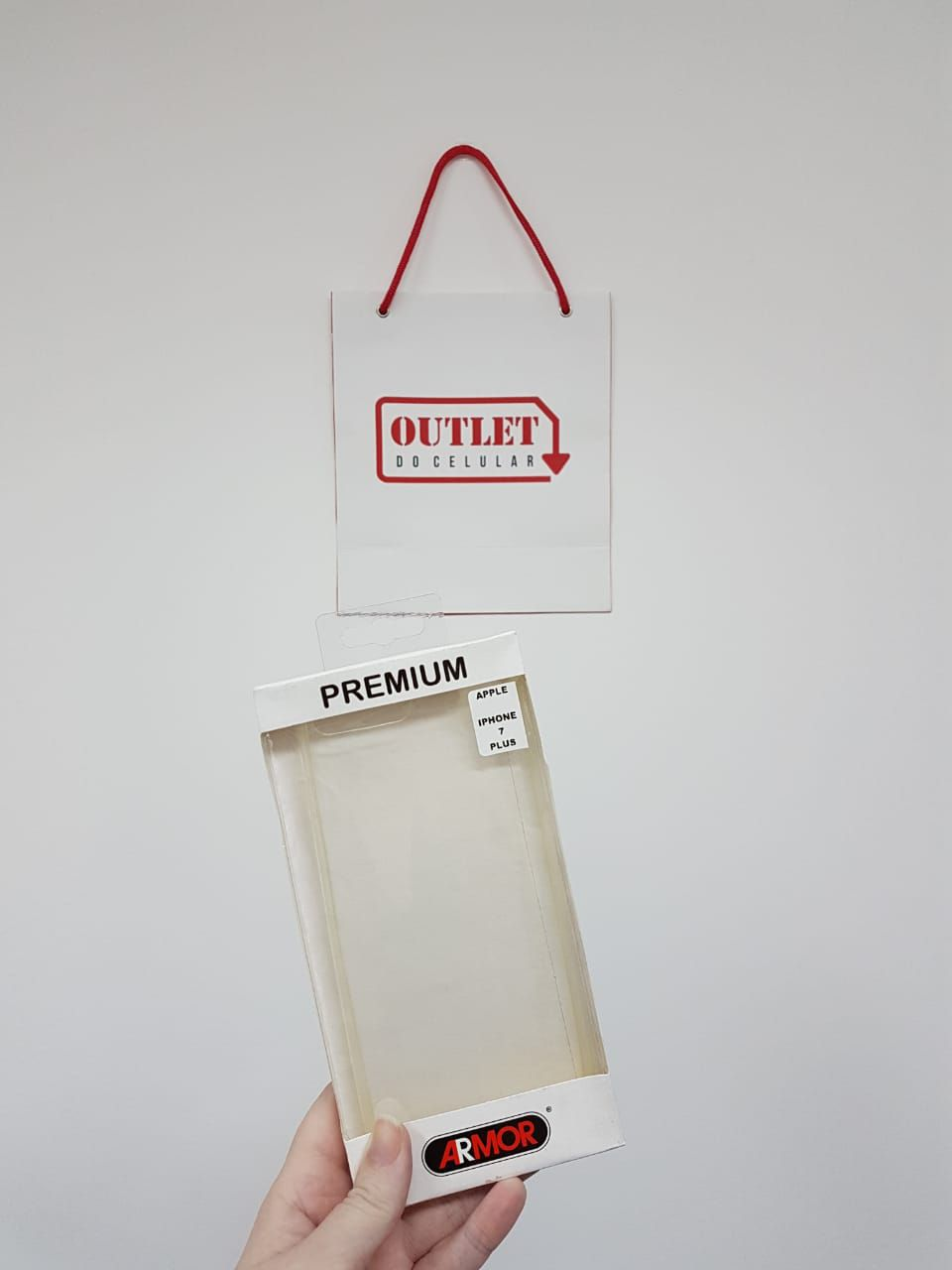 Capa Protetora TPU Prime para iPhone 7 Plus Ultra Slim Transparente