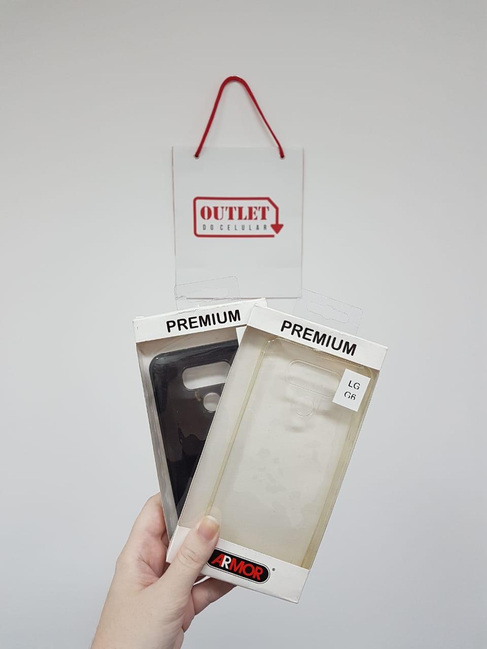 Capa Protetora TPU Armor para LG G6 Liso Transparente