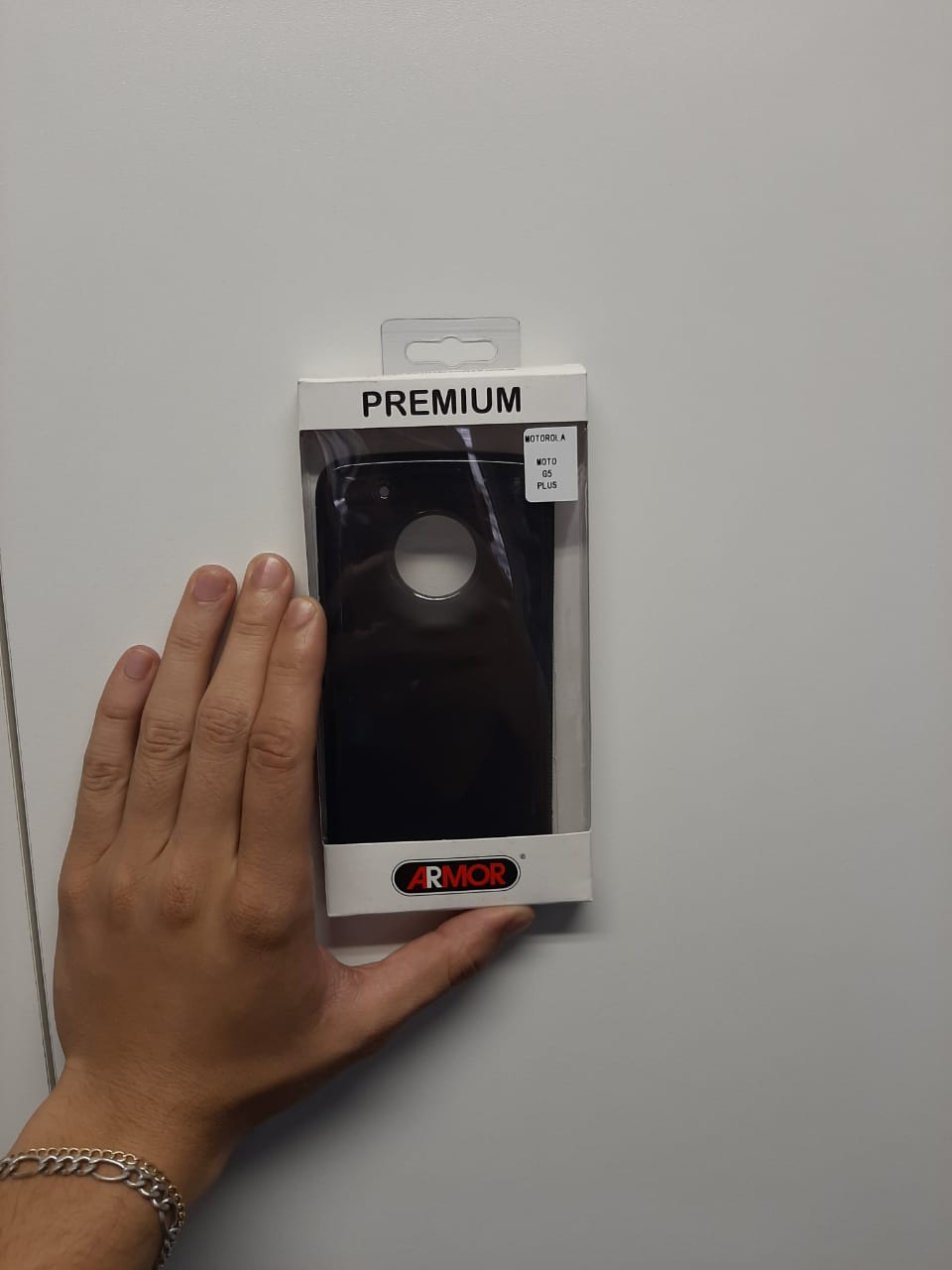 Capa Protetora TPU Armor para Motorola Moto G5 Plus Fumê
