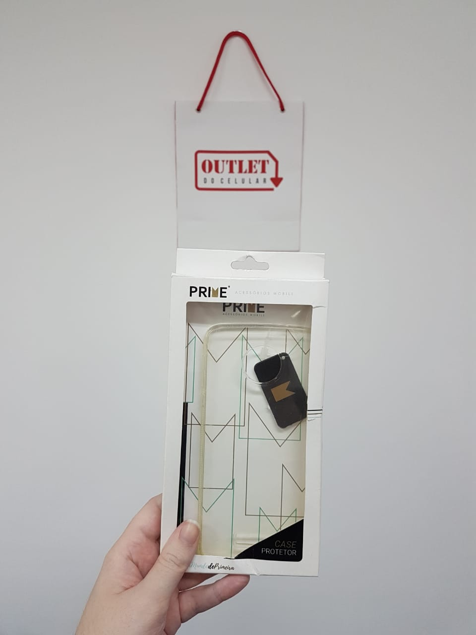Capa Protetora TPU Prime para Motorola Moto Z Transparente