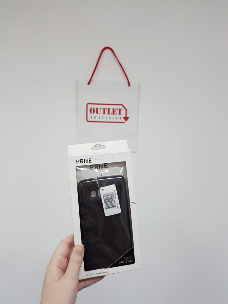 Capa Protetora TPU Prime para Samsung Galaxy Metal Fumê