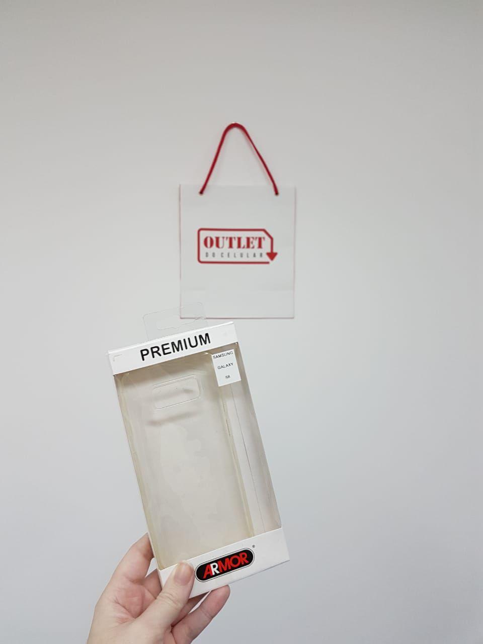 Capa Protetora TPU Armor para Samsung S8 Transparente