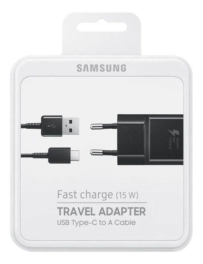 Carregador Samsung EP-TA20BBBCGBR Ultra-Rápido tipo USB-C Original