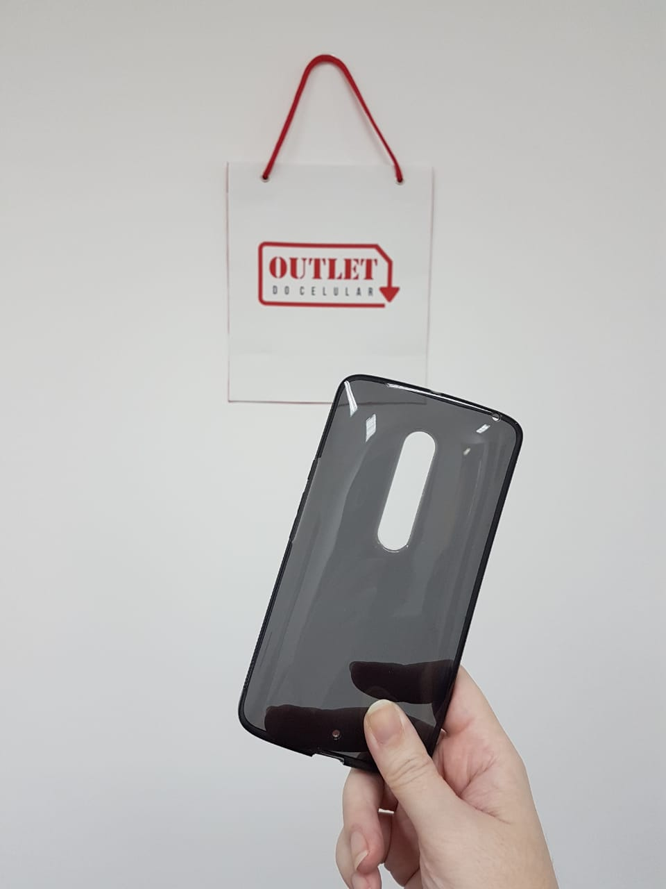 Case TPU Prime Fumê para Motorola Moto G3