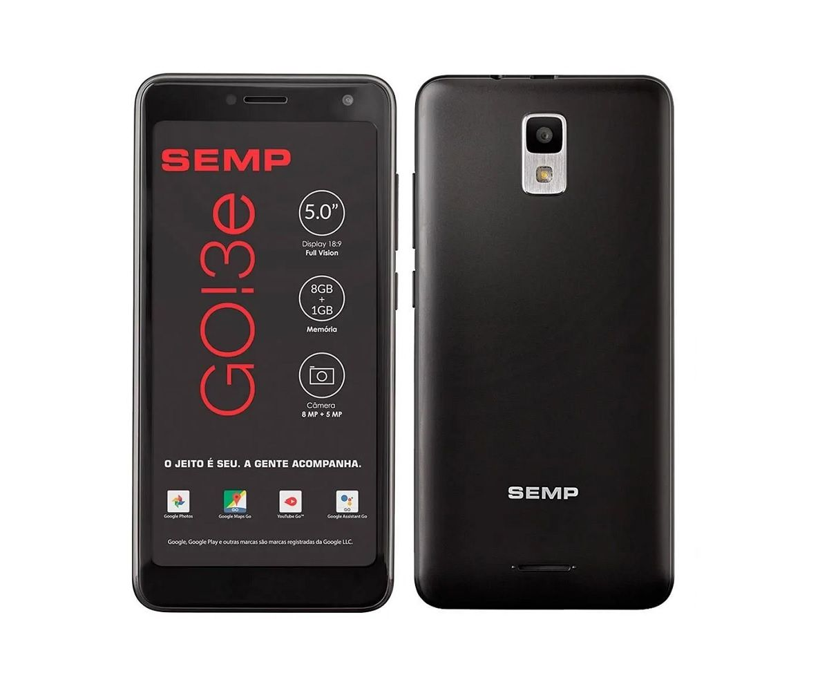 Smartphone Semp Go 3E 8GB - Novo