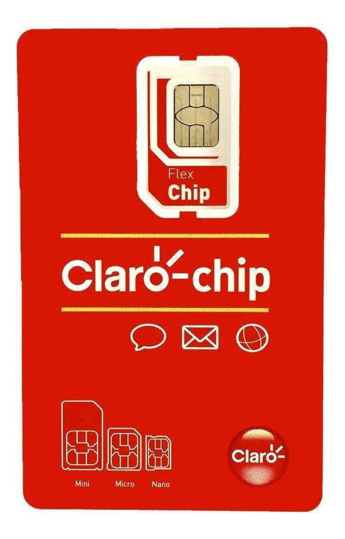 Chip da Claro Prézão qualquer DDD 11 ao 99