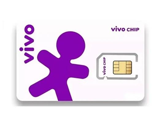 Chip Vivo 4g Pré Pago Triplo Corte + Recarga 10,00 Reais