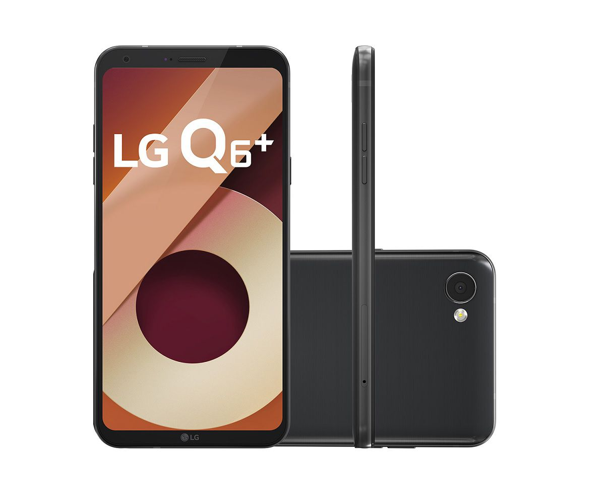 Smartphone LG Q6 Plus 64GB - Novo