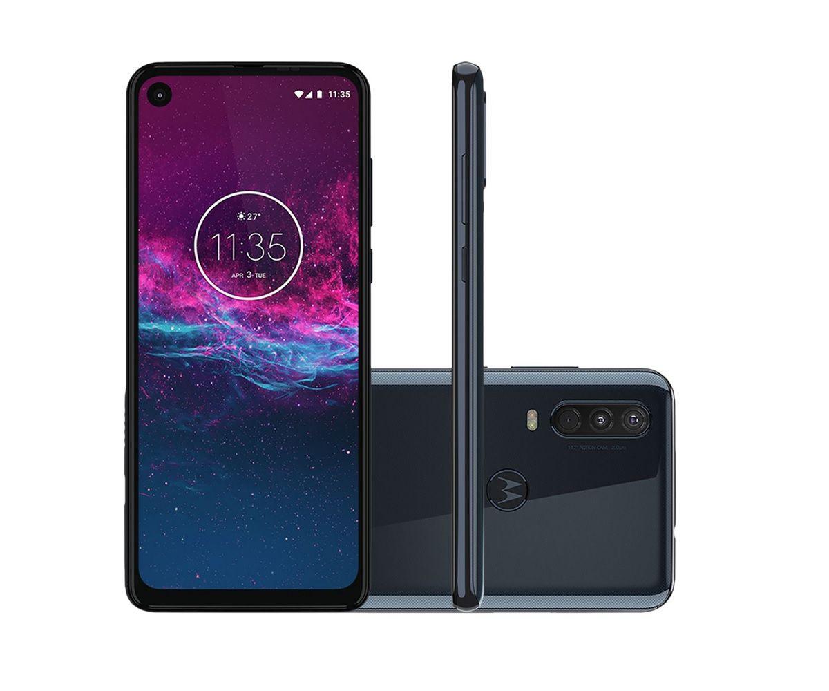 Smartphone Motorola Moto One Action 128GB - Novo