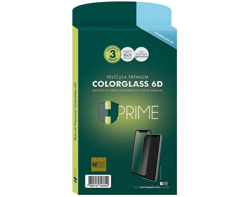 Película Vidro Colorglass 6D HPrime - iPhone XS Max
