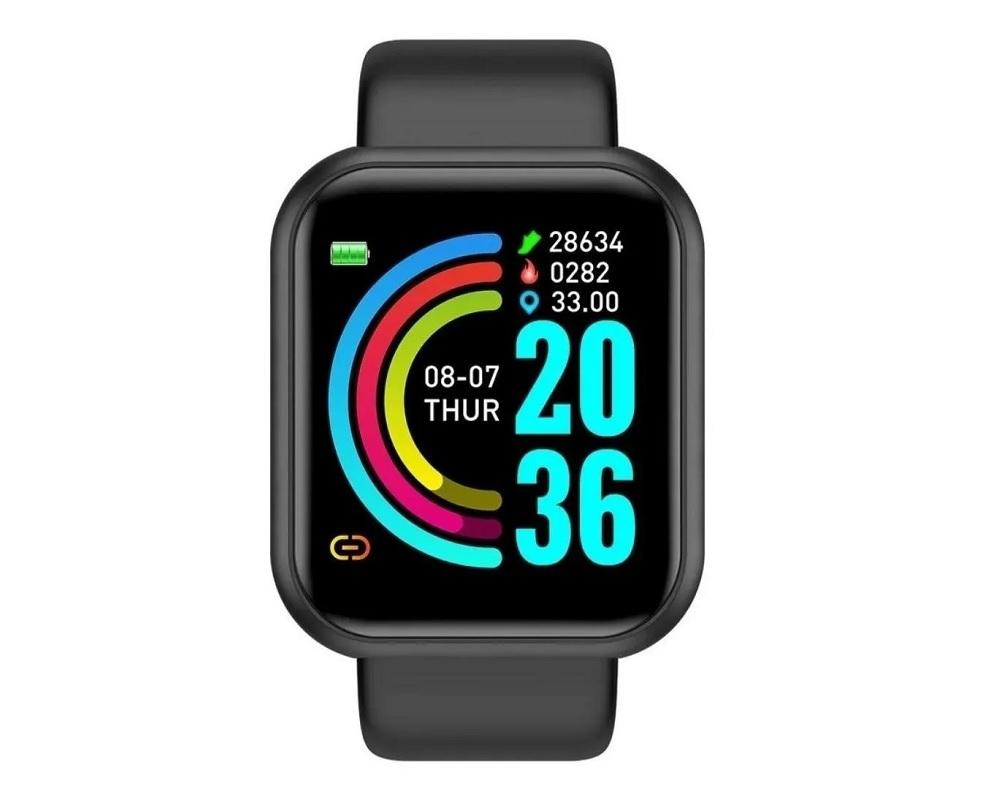 Relógio Smart Bracelet - Preto