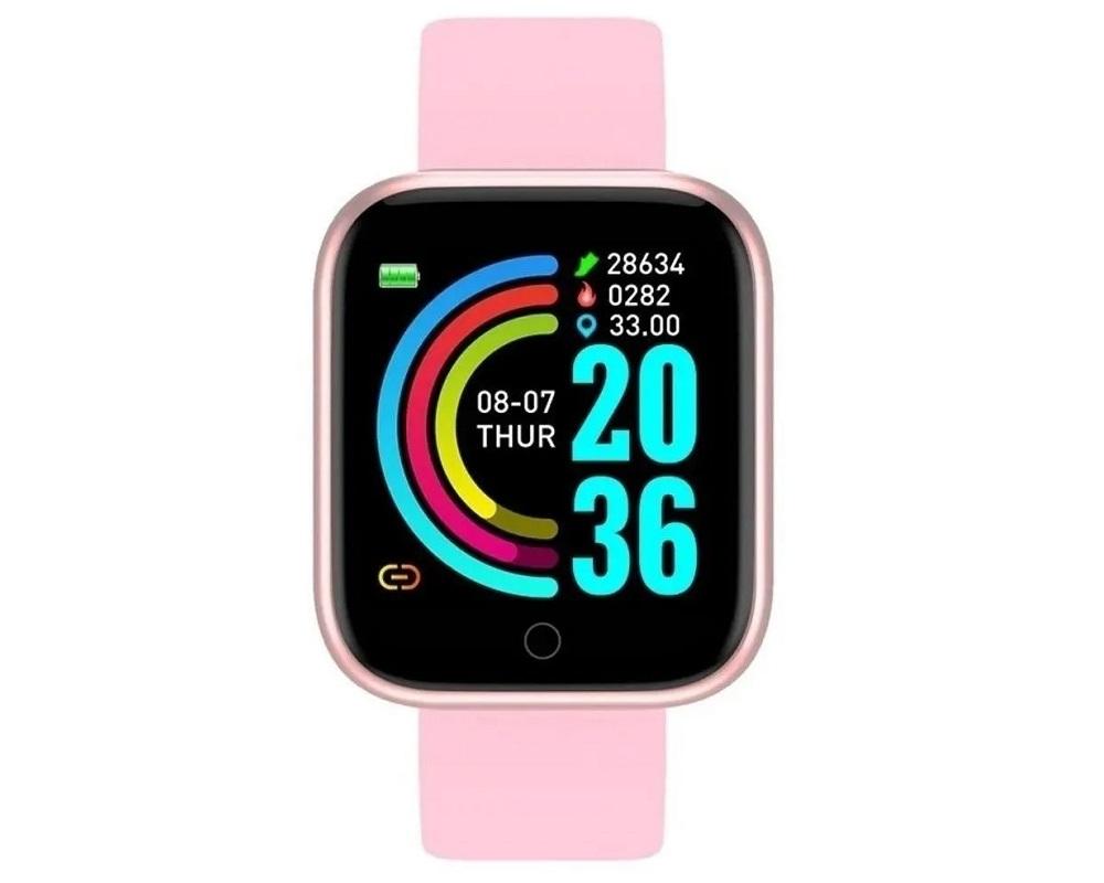Relógio Smart Bracelet - Rosa