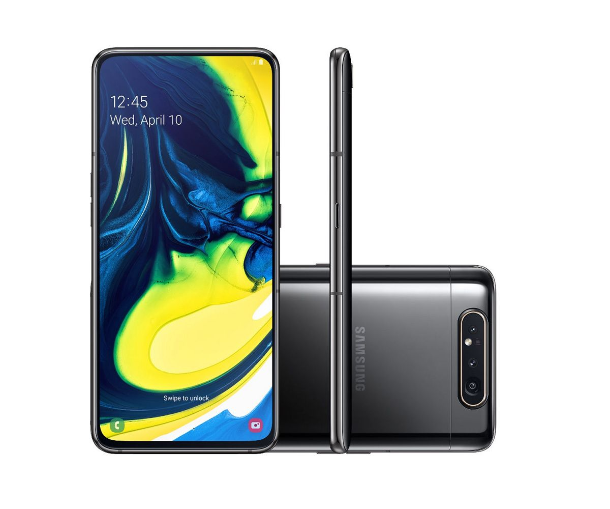 Smartphone Samsung Galaxy A80 128GB - Vitrine