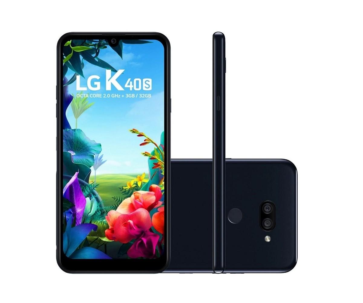 Smartphone LG K40S 32GB - Novo