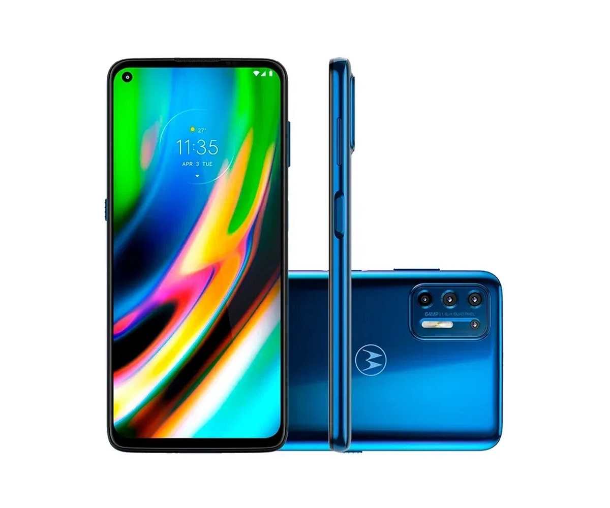Smartphone Motorola Moto G9 Plus 128GB - Seminovo