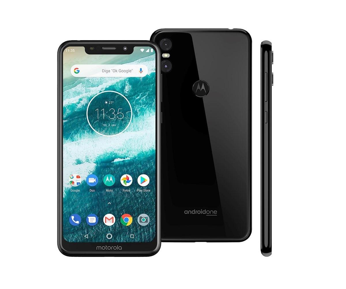 Smartphone Motorola Moto One 64GB - Novo