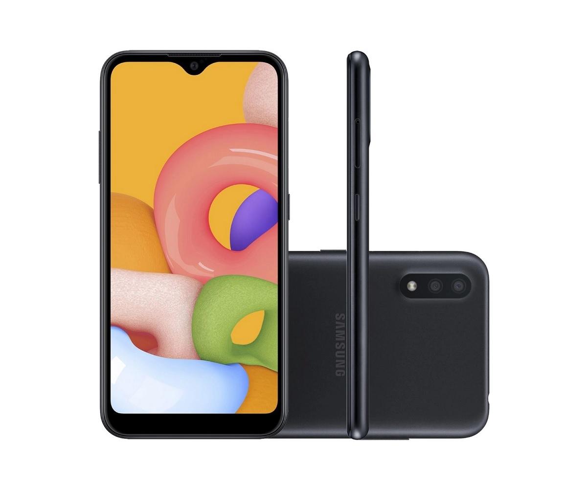 Smartphone Samsung Galaxy A01 32GB - Seminovo