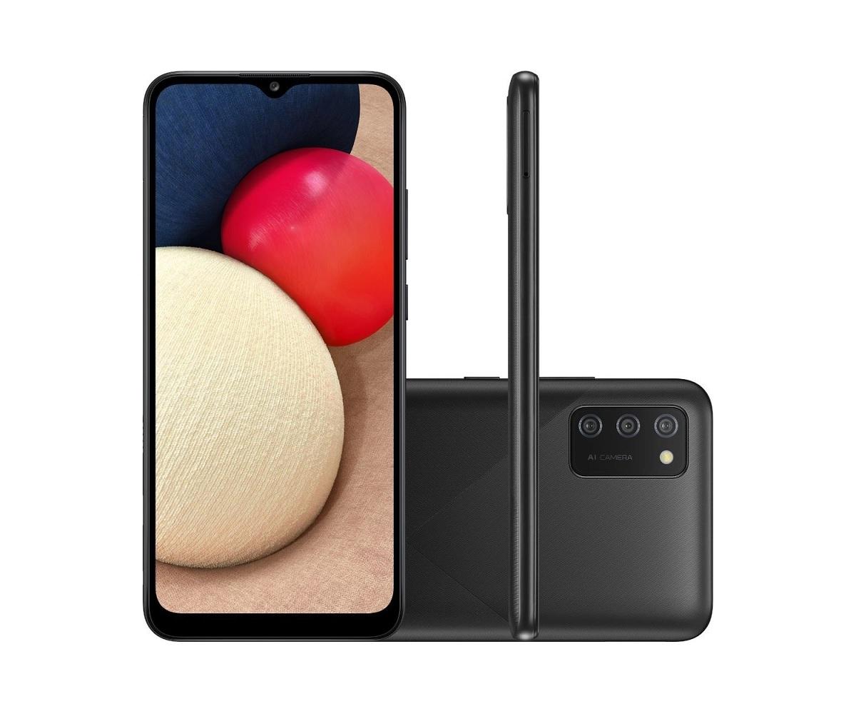 Smartphone Samsung Galaxy A02S 32GB - Seminovo