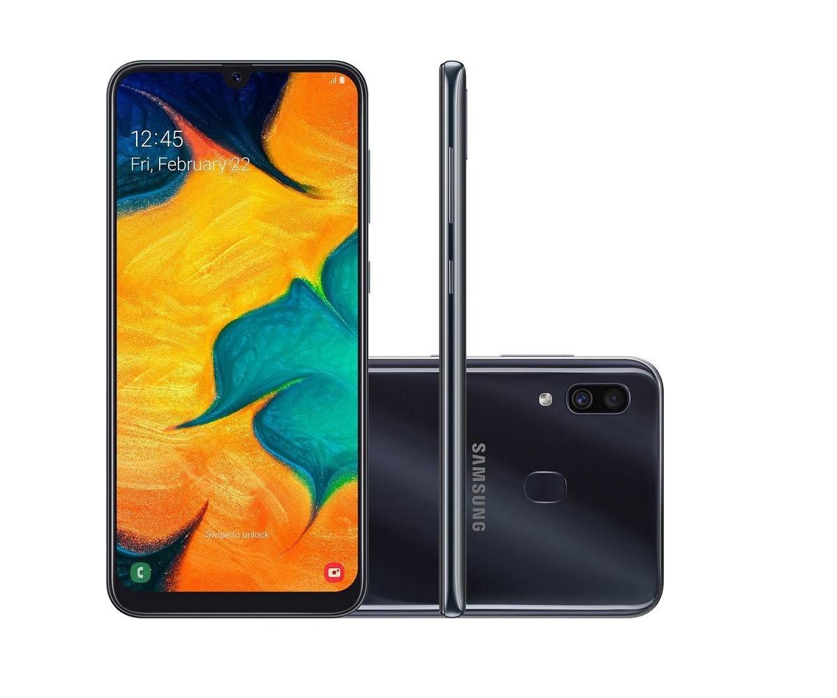 Smartphone Samsung Galaxy A30 64GB - Vitrine